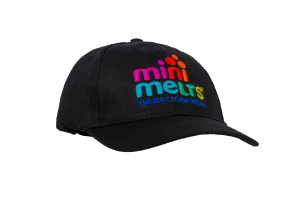 Mini Melts BASEBALL CAP czarna